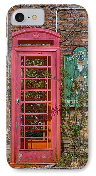 Call Me - Abandoned Phone Booth IPhone Case