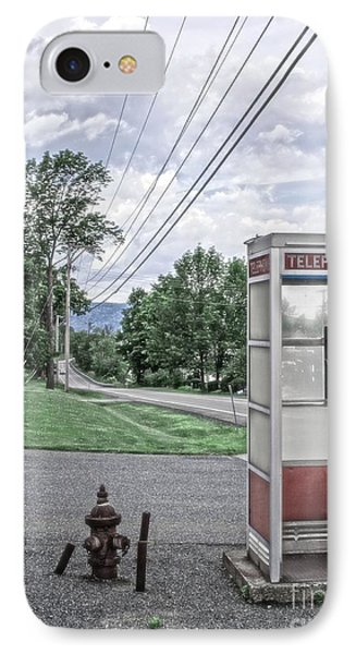 Call Me When You Get There Phone Case by Edward Fielding