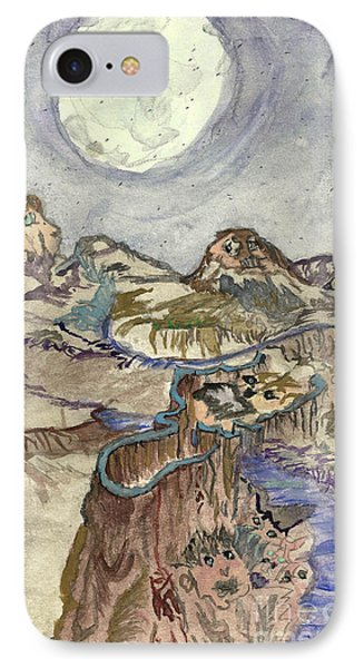 Call Of The Night IPhone Case by Angela Pelfrey