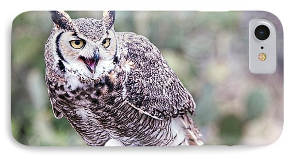 IPhone Case featuring the photograph Call Of The Owl by Dan McManus