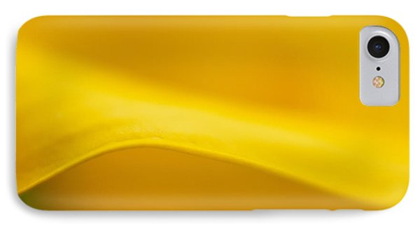 Calla Curve IPhone Case by Joan Herwig