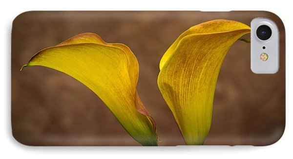 IPhone Case featuring the photograph Calla Lilies by Sebastian Musial