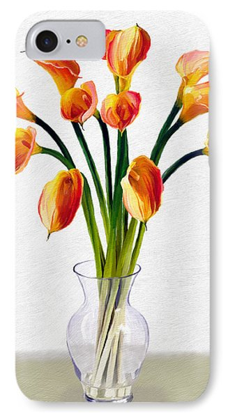 Calla Lillies IPhone Case