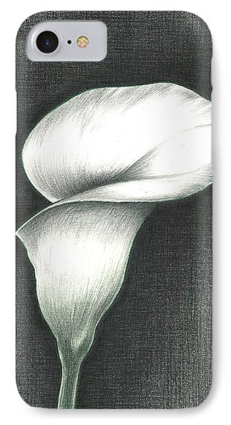 IPhone Case featuring the photograph Calla Lily by Troy Levesque