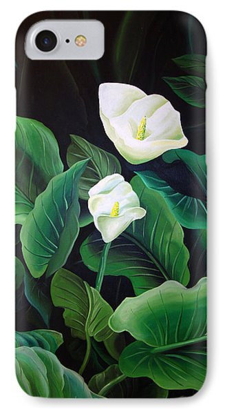 Calla Lily IPhone Case by William Love