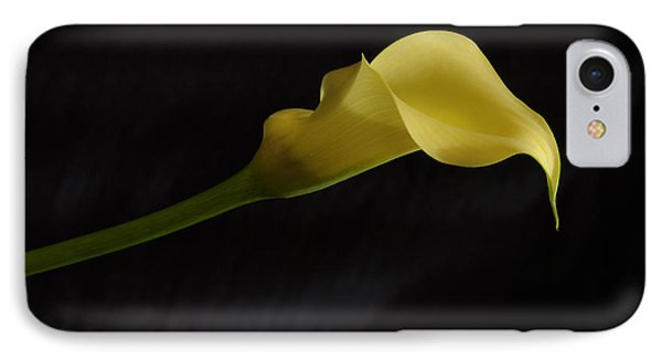Calla Lily Yellow II Phone Case by Ron White