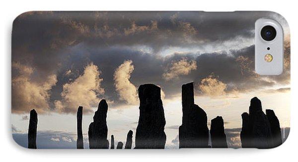 Callanish Standing Stones Phone Case by Tim Gainey