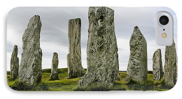 Callanish Standing Stones Phone Case by Toby Adamson