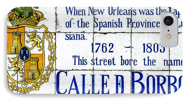 Calle D Borbon IPhone Case by David Morefield