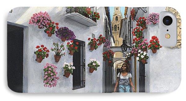Calle De Las Flores Cordoba IPhone Case