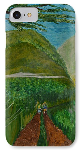 IPhone Case featuring the painting Called To The Mission Field by Cassie Sears