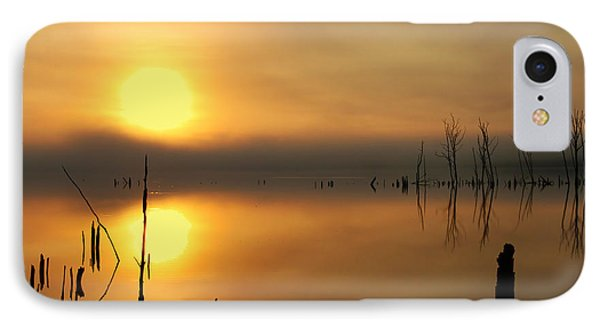 Calm At Dawn IPhone Case by Roger Becker