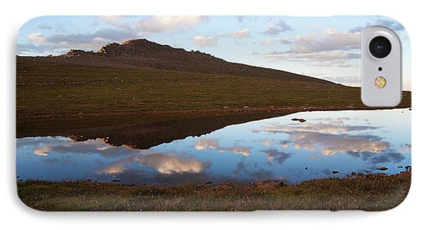IPhone Case featuring the photograph Calm Below The Summit by Jim Garrison