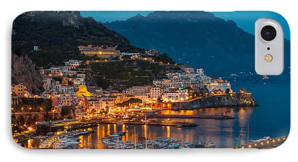Calm Night Over Amalfi Coast IPhone Case by Gurgen Bakhshetsyan