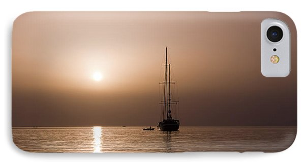Calm Sea And Quiet Voyage IPhone Case