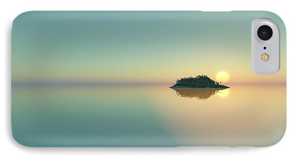 Calm Seas Sunset... IPhone Case