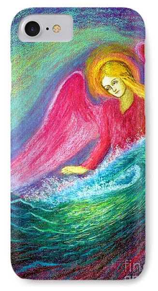 Calming Angel IPhone Case