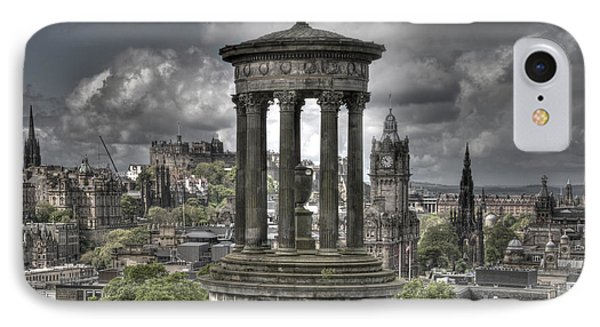 Calton Hill IPhone Case by Marion Galt
