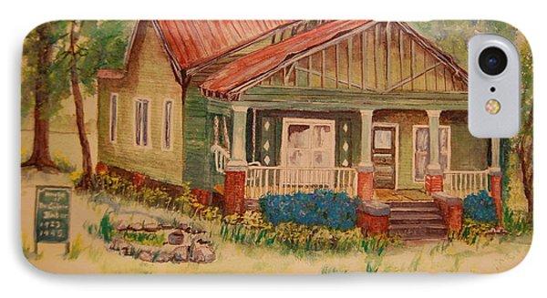 Calvin Baber House Phone Case by Lynn Beazley Blair