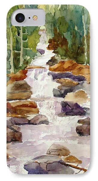 Calypso Cascade Falls IPhone Case by Larry Hamilton