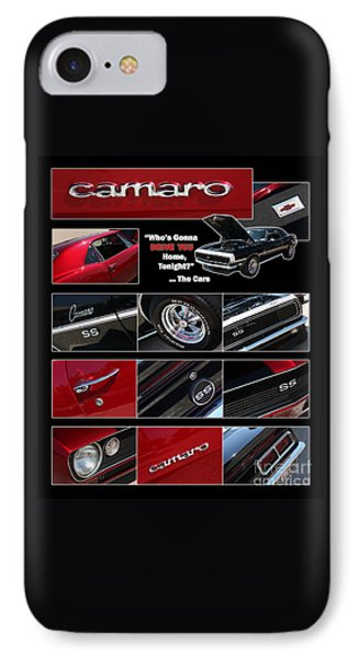 Camaro-drive - Poster Phone Case by Gary Gingrich Galleries
