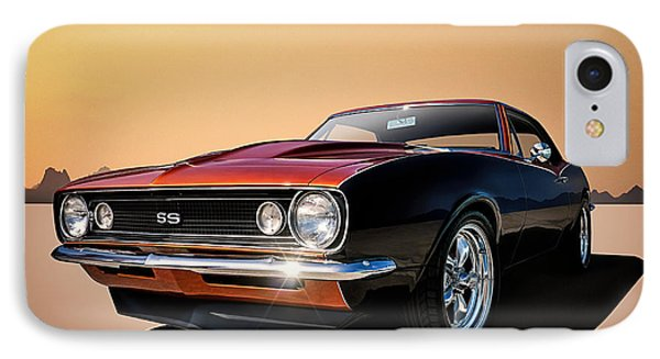 Camaro Ss IPhone Case by Douglas Pittman