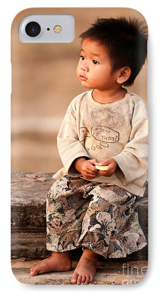 Cambodian Girl 02 IPhone Case
