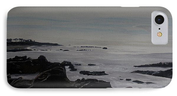 IPhone Case featuring the painting Cambria Tidal Pools by Ian Donley