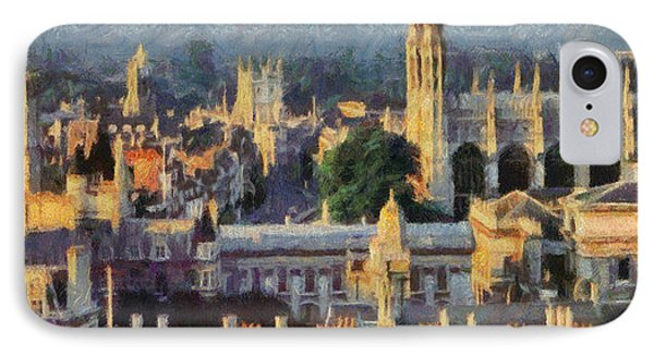 Cambridge Panorama Phone Case by Georgi Dimitrov