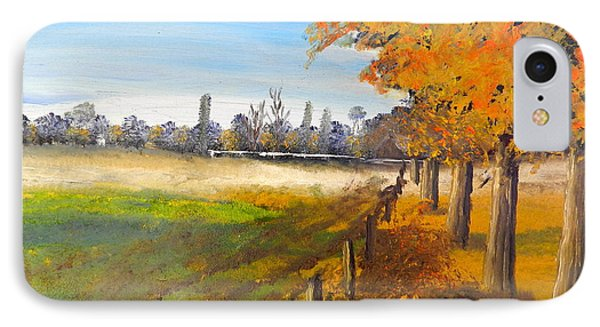 IPhone Case featuring the painting Camden Farm by Pamela  Meredith