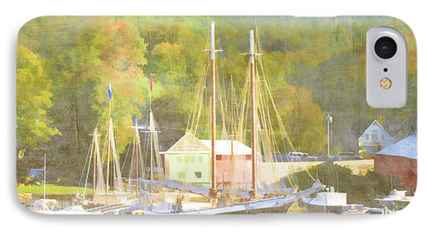 Camden Harbor Maine Phone Case by Carol Leigh