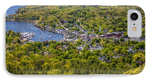 Camden Harbor View Phone Case by Susan Cole Kelly