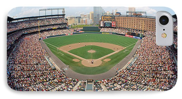 Camden Yards Baltimore Md IPhone Case by Panoramic Images