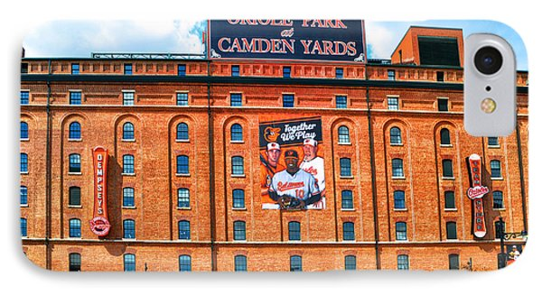 Camden Yards IPhone Case by Bill Cannon