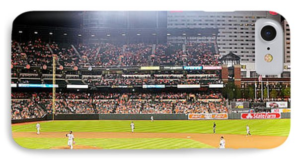 Camden Yards IPhone Case by Mike Baltzgar