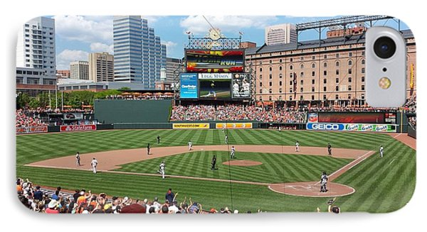 Camden Yards IPhone Case by Ross Ansel