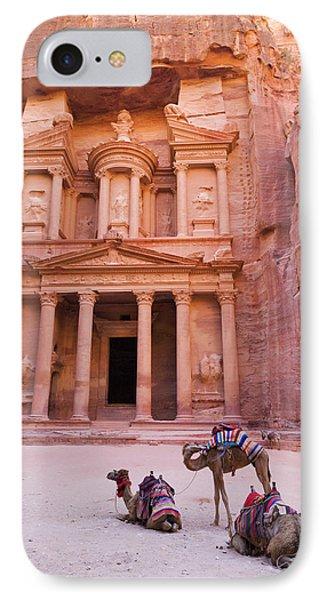 Camel At The Facade Of Treasury (al IPhone Case by Keren Su