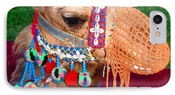 Camel Fashion IPhone Case by Julia Ivanovna Willhite