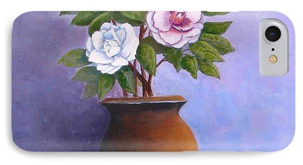 Camellia Bouquet IPhone Case