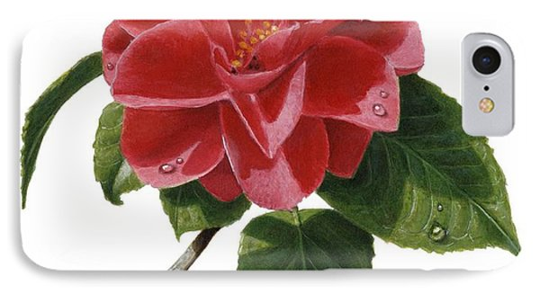 Camellia Phone Case by Richard Harpum