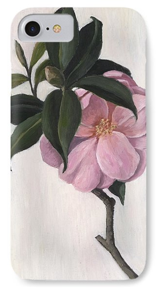Camellia IPhone Case by Ruth Addinall