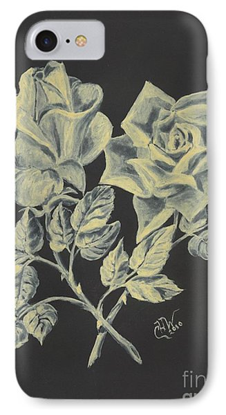 Cameo Rose IPhone Case by Carol Wisniewski