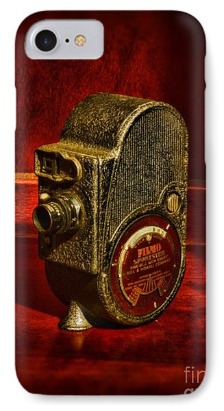 Camera - Bell And Howell Film Camera Phone Case by Paul Ward