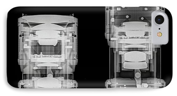 Camera Lens Under X-ray. IPhone Case