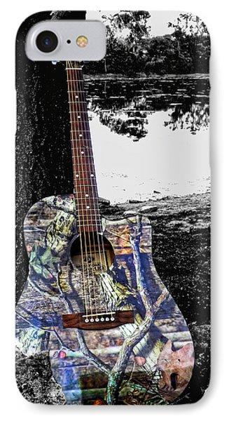 Camo Guitar IPhone Case