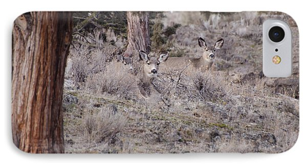 Camouflaged Deer  IPhone Case