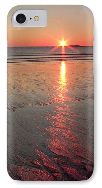 IPhone Case featuring the photograph Camp Ellis Beach Sunrise 2013-10-19 by Jeremy McKay
