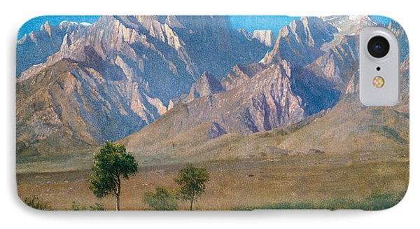 Camp Independence Colorado IPhone Case by Albert Bierstadt