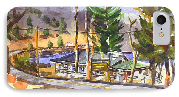 Camp Penuel At Lake Killarney Phone Case by Kip DeVore