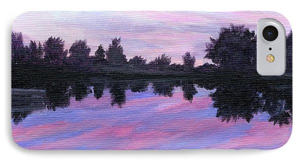 Camp Sunset IPhone Case by Lynne Reichhart